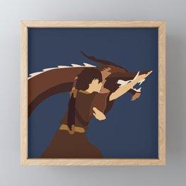 Avatar The Last Airbender Minimalist Zuko Framed Mini Art Print
