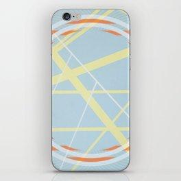 crossroads ll - orangle circle graphic iPhone Skin