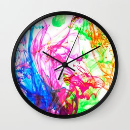 PAINT BOX Wall Clock