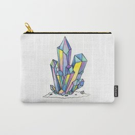 Rainbow Crystals Carry-All Pouch