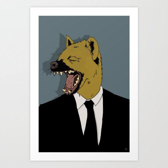 You make me Laugh Art Print