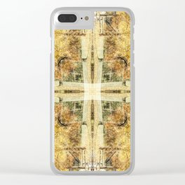 Fall Tres Reflection 4 Clear iPhone Case