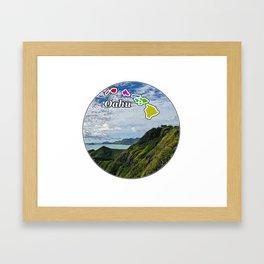 Oahu Framed Art Print