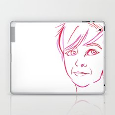 Pink Portrait Laptop & iPad Skin