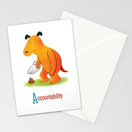 Accountability Stationery Cards