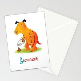 Accountability Stationery Cards
