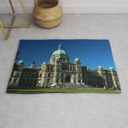 British Columbia Legislature Building Rug