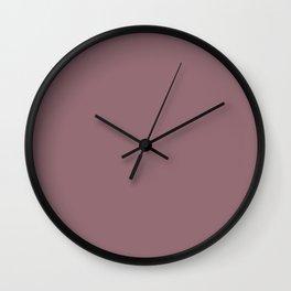 Wistful Mauve Wall Clock