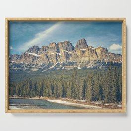 Castle Mountain Serving Tray