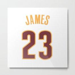 James 23 Metal Print