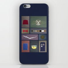 Eleven (Doctor Who) Colors iPhone Skin