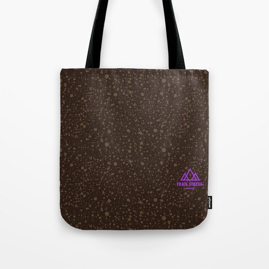 Trail Status / Brown Tote Bag