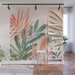 Tropical Leaves 4 Wall Mural