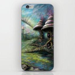 Alien Landscape iPhone Skin
