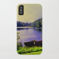 notebook iPhone & iPod Cases featuring A Celtic Notebook Moment by Alex Cassels