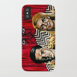 """""""The Red Room"""" by Kristin Frenzel iPhone Case"""