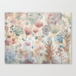 jardin 2 Canvas Print