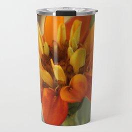 Marigold Flower Travel Mug