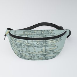 my ship in the port Fanny Pack
