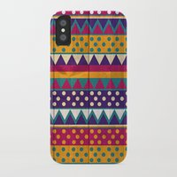 mexican iPhone & iPod Cases featuring Mexican Pattern by Eleaxart