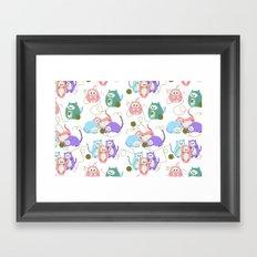 3 Little Kittens Framed Art Print