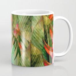 Painted Jungle Leaves 2 Coffee Mug