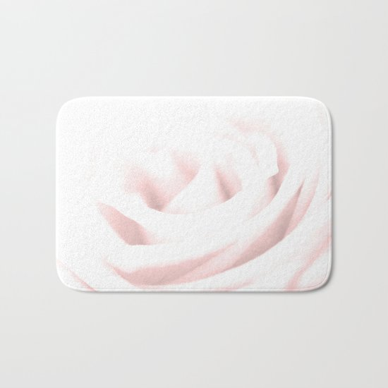 GENTLENESS #2 - Rose in Rose Quartz #decor #art #society6 Bath Mat