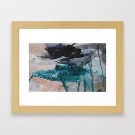 0 9 3 Framed Art Print