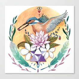 Merkabah Canvas Print