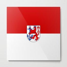 flag of Düsseldorf or Dusseldorf Metal Print