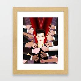 Light my Desire Framed Art Print