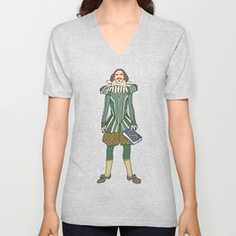 Outfit of Shakespeare Unisex V-Neck