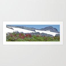 Mountain Summer Art Print