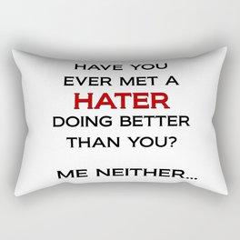 Hater Rectangular Pillow
