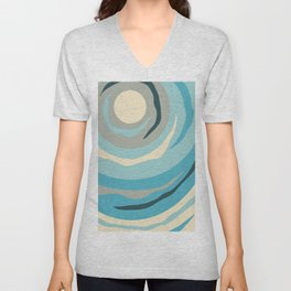 Moonbeam Unisex V-Neck