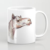camel Mugs featuring Camel by Ursula Rodgers