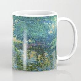 Václav Radimský (1867-1946) Bath Modern Impressionist Oil Painting Colorful Bright Landscapes Coffee Mug