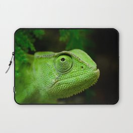 Green chameleon Laptop Sleeve