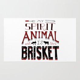 My Spirit Animal is Brisket Rug