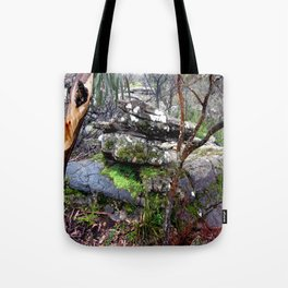 Volcanic Lava Rocks Tote Bag