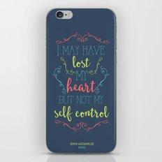 Jane Austen's Emma iPhone & iPod Skin