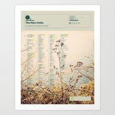 The Visual Mixtape 2010 | De-Loused In The Comatorium | 10 / 25 Art Print