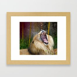 Hunting protected animals is wrong Framed Art Print