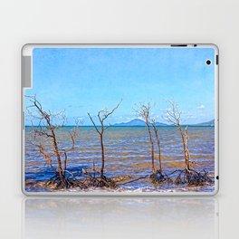 Skeletal mangrove trees Laptop & iPad Skin