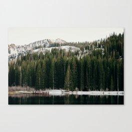 Silver Lake's a Beaut. Canvas Print
