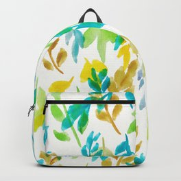 180726 Abstract Leaves Botanical 4 |Botanical Illustrations Backpack