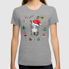 Merry Christmas Pitbull T-shirt