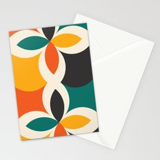 Midcentury Pattern 09 Stationery Cards