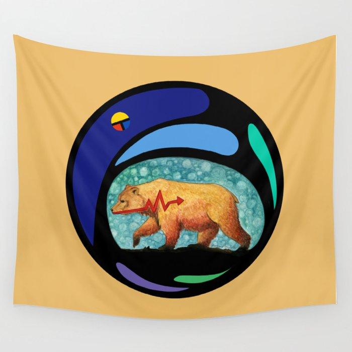 Zuni Bear Wall Tapestry By Stormwolfstudios Society6