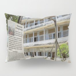 S21 The Gallows - Khmer Rouge, Cambodia Pillow Sham
